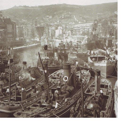 La antigua ría de Bilbao