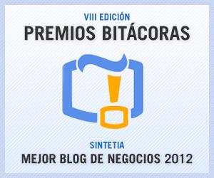 Sintetia: Mejor Blog de Negocios 2012