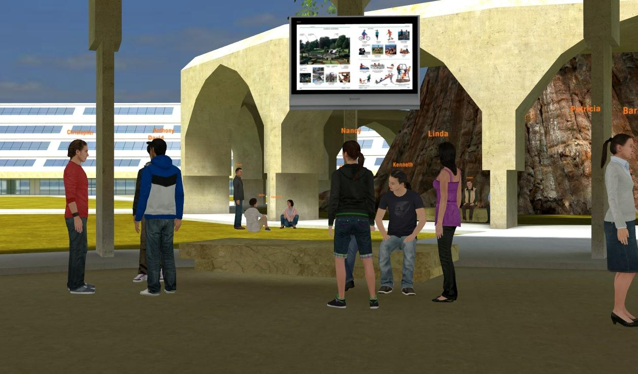 LinguoLand, first virtual world to practice a second language  - image 1 - student project