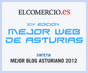Sintetia: Mejor Blog de Asturias 2012