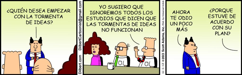 Dilbert_-_Tormenta_de_ideal_y_metereologia_laboral