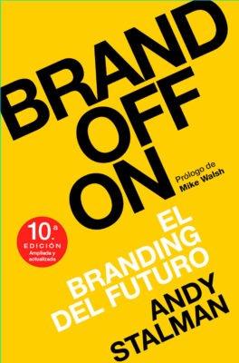 Brand off on portada libro