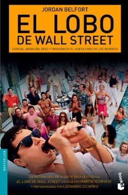 El lobo de Wallstreet portada libro