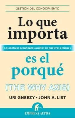 Lo que importa es el porqué portada libro