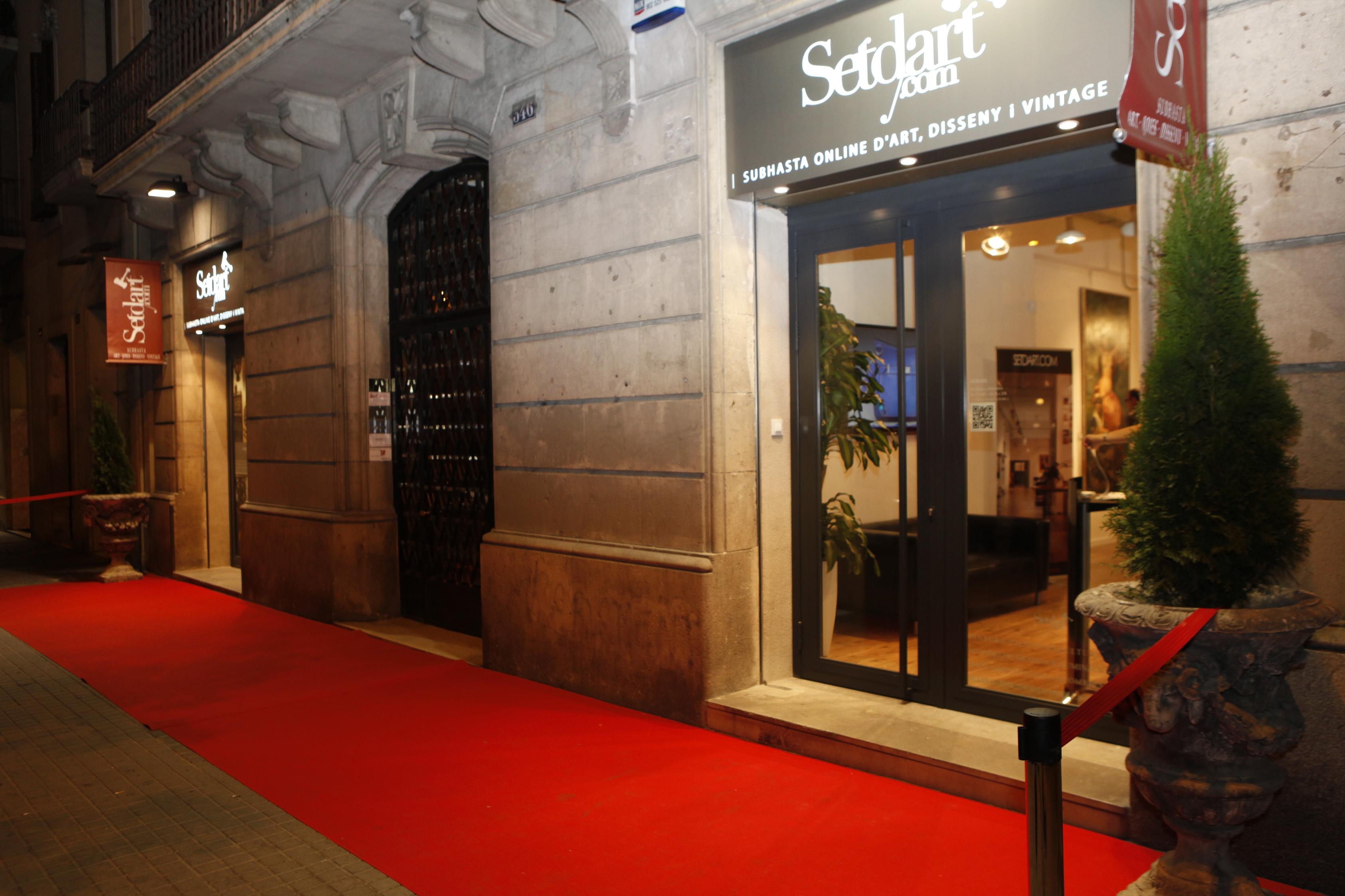 entrada Setdart