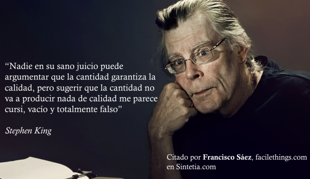 Stephen King Sintetia