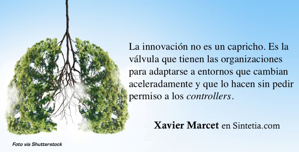 La innovacion no es un capricho