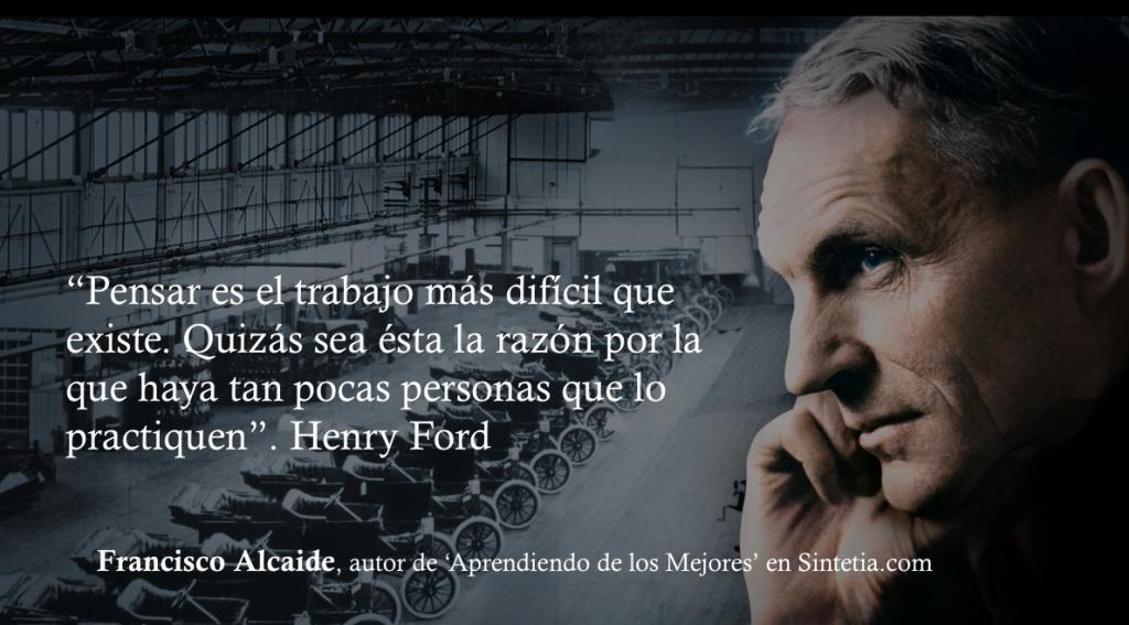 Henry Ford Pensar