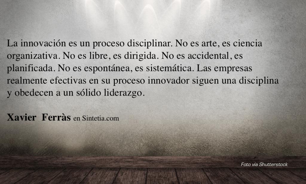 Idea 4 Innovacion como disciplina