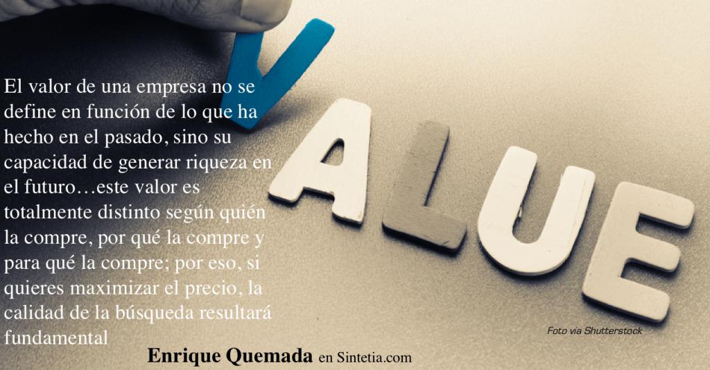 Valor de una Empresa_ FIT. Enrique Quemada