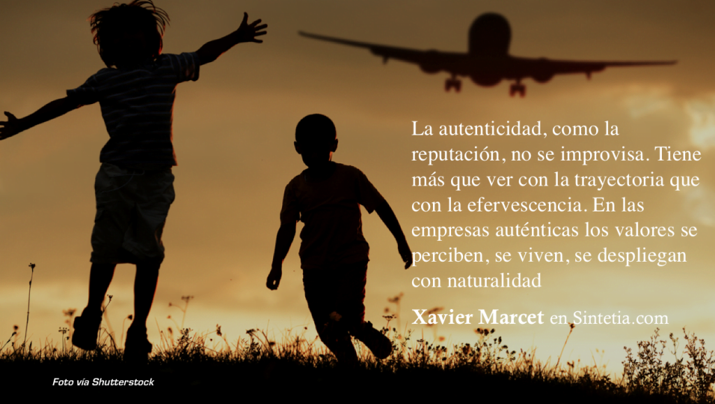 Autenticidad Management Xavier Marcet 1