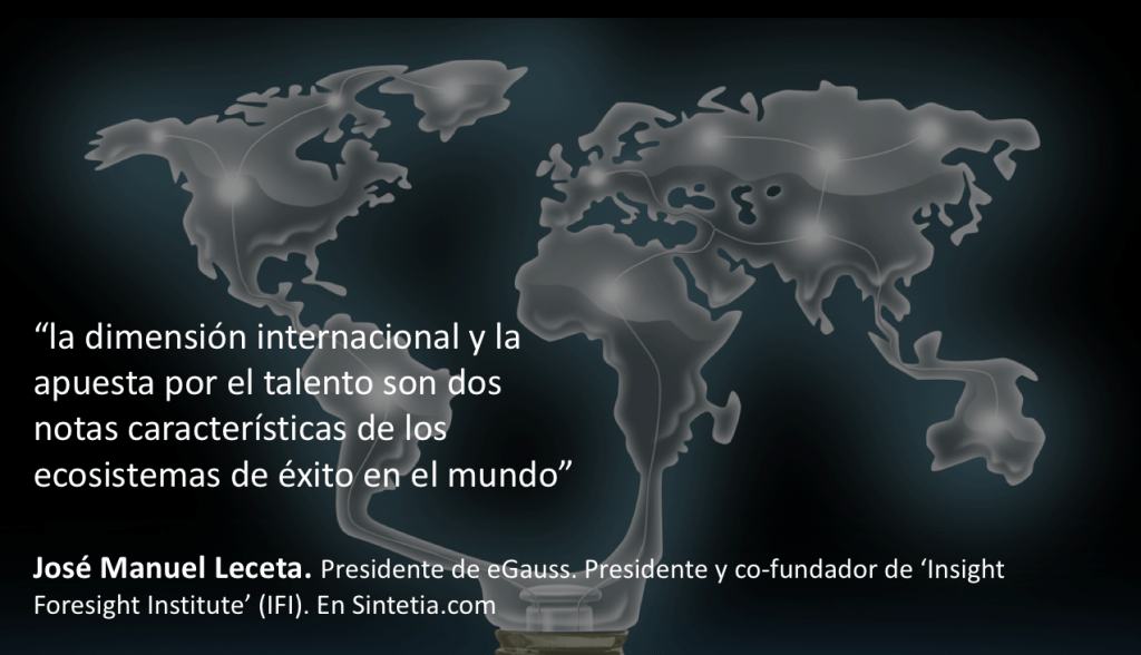 La dimensión internacional de la innovación