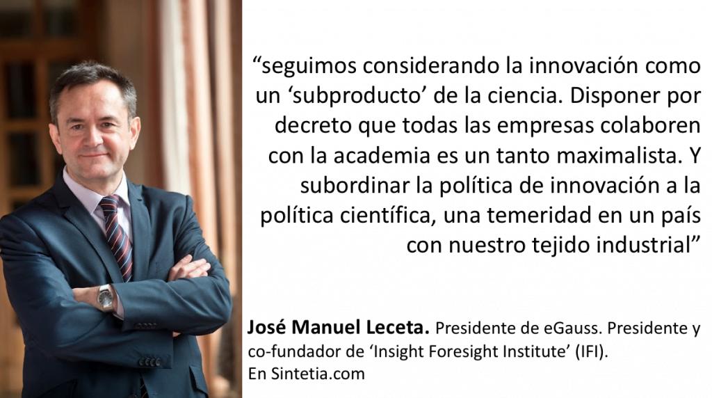 José Manuel Leceta en Sintetia