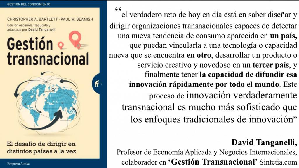 Cita de Gestión transnacional