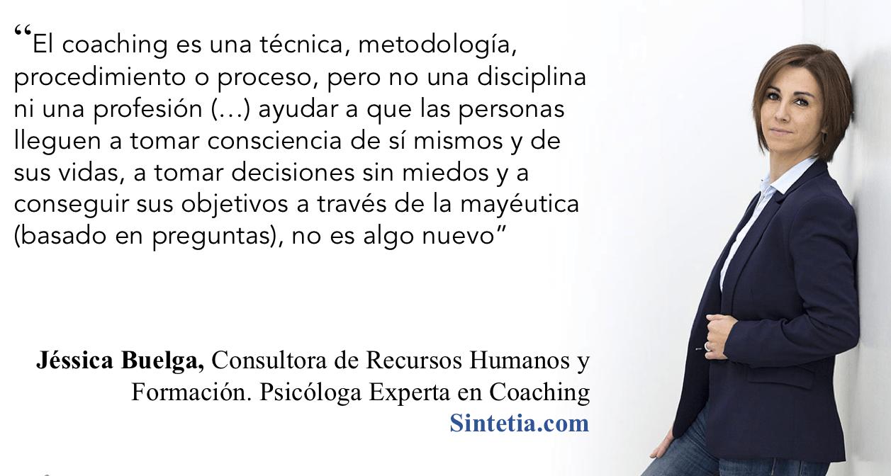 Jessica Buelga sobre Coaching