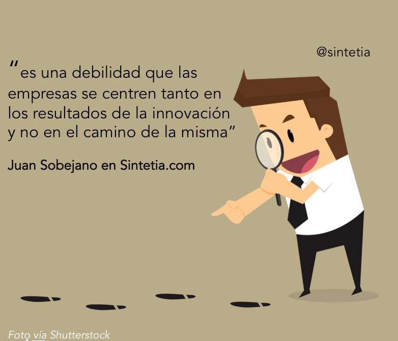 Innovar es un proceso