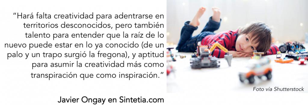 Javier Ongay, la revolución del talento