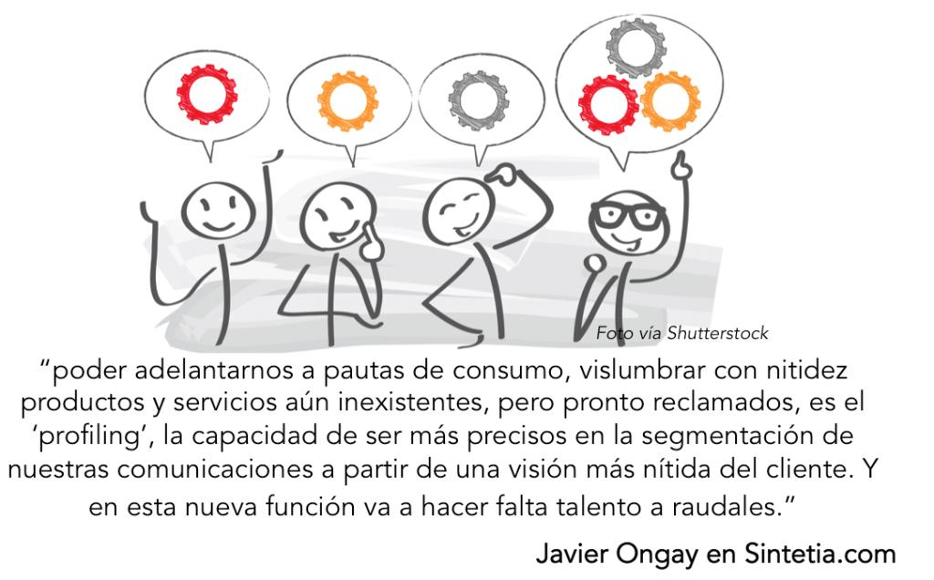 Javier Ongay Talento, Sintetia