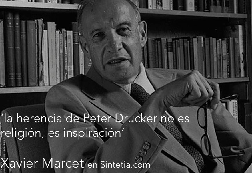 herencia de Drucker