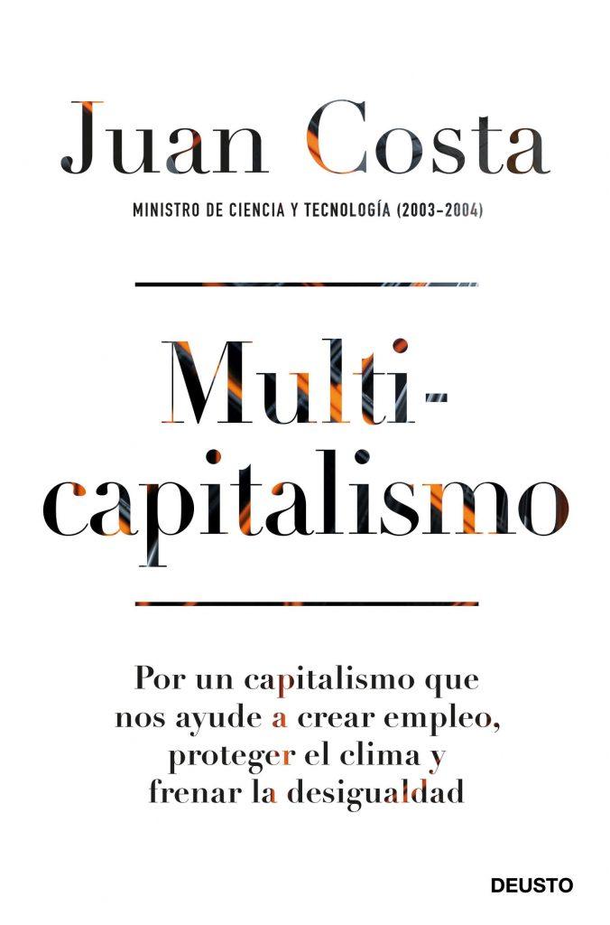 Portada libro Multicapitalismo de Juan Costa