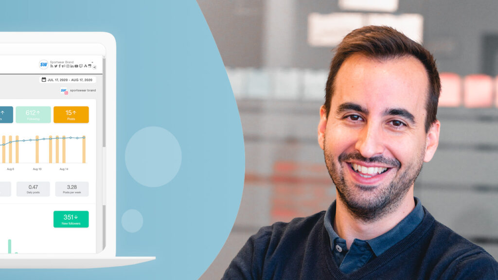 Juan Pablo Tejela, CEO de Metricool